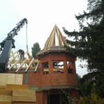 Dachkonstruktion mit Erkerdach