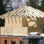 Obergeschoß in Holzriegelbauweise