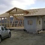 Stahlbeton- und Holzbauweise ergänzen sich